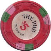 casino the pub tacoma $ 1 chip 1 rev