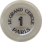 casino le grand cercle paris FF 1 jeton B 1 anv