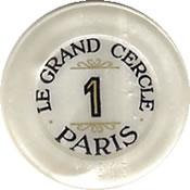casino le grand cercle paris FF 1 jeton B 1 rev