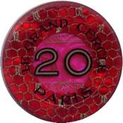 casino le grand cercle paris FF 20 jeton R 1 anv