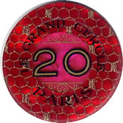 casino le grand cercle paris FF 20 jeton R 1 rev
