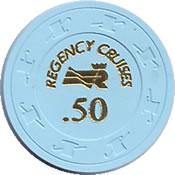 regency cruises $ .50 chip anv=rev