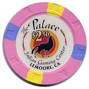 Casino The palace in gaming center Lemoore ca $ 2,5 chip anv