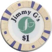 casino Jimmy G's lakewood WA $1 chip 1 anv