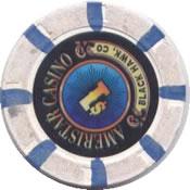 casino ameristar Black hawk CO $1 chip rev