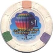 casino argosy lawrenceburg IN $1 chip anv