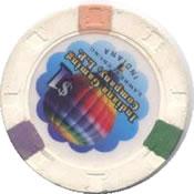 casino argosy lawrenceburg IN $1 chip rev