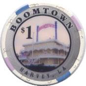 casino boomtown harvey LA $1 chip anv