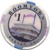 casino boomtown harvey LA $1 chip rev
