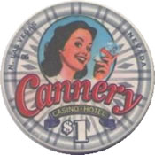 casino cannery $1 LV rev