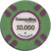 casino cosmopolitan colombia 10000 chip anv