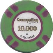 casino cosmopolitan colombia 10000 chip rev