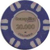 casino cosmopolitan colombia 20000 chip anv