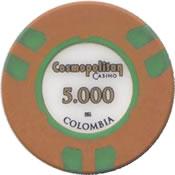 casino cosmopolitan colombia 5000 chip anv