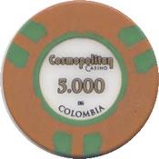 casino cosmopolitan colombia 5000 chip rev