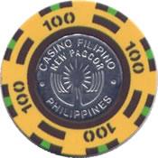 casino filipno new pagcor 100 chip anv