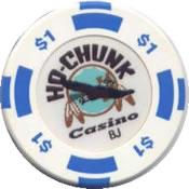 casino ho-chunk baraboo WI $1 chip anv
