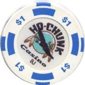 casino ho-chunk baraboo WI $1 chip rev