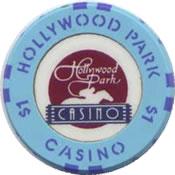 casino hollywood park inglewood FL $1 chip anv