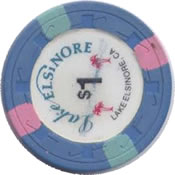 casino lake elsinore CA $1 chip rev