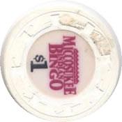 casino miccosukee Miami FL $1 chip rev