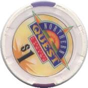 casino northern quest spokane WA $1 chip rev