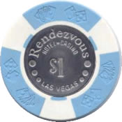 casino rendezvous LV $1 chip anv