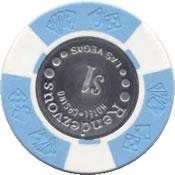 casino rendezvous LV $1 chip rev