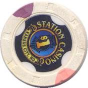 casino station kansas city MO $1 chip rev