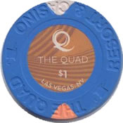 casino the quad LV $1 chip anv