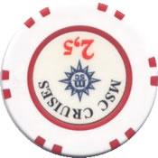 msc cruises 2,5 chip rev