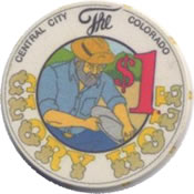 the glory hole central city CO $1 chip anv