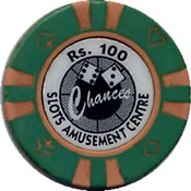 casino chances IND Rs 100 chip 1 anv=rev