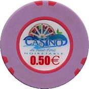 casino de haut forez noirtable € 0,5 chip 1