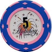 casino holiday mariopol UCR$ 5 chip anv