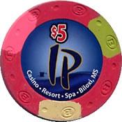 casino ip biloxi ms $ 5 chip 1 anv