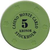 casino monte carlo stockholm Kr 5 chip ARC1
