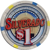 casino silverado deadwood SD $1 anv