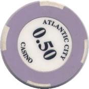 casino atlantic city lima peru 0.50ct chip rev
