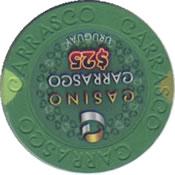casino carrasco $25 chip rev