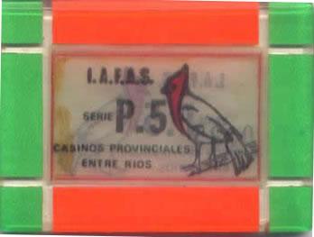 casino provinciales entre rios P.5 plaque rev