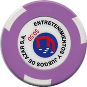 casino sheraton salta EJA $ 0,50 chip rev