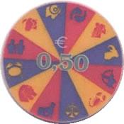 Casino Hit Perla Nova Gorica, Eslovenia 0,50€ chip avn