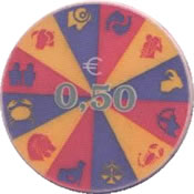 Casino Hit Perla Nova Gorica  Eslovenia 0,50€ chip rev