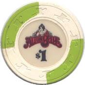 casino alton belle argosy IL $ 1 chip anv