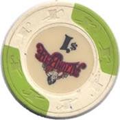 casino alton belle argosyIL $ 1 chip rev