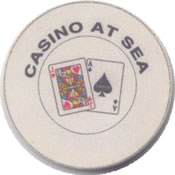 casino at sea 1$ chip anv