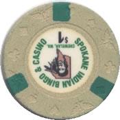 casino bingo spokane indian $1 chip rev