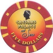 casino crystal cruises $ 5 chip anv