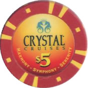 casino crystal cruises $ 5 chip rev